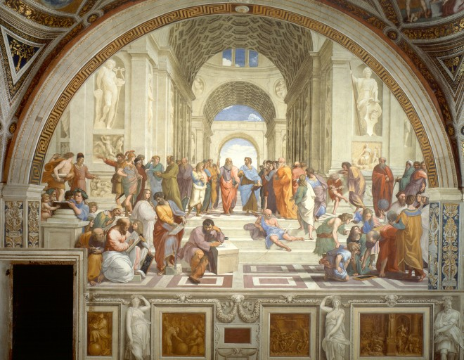 School of Athens, from wikipedia.